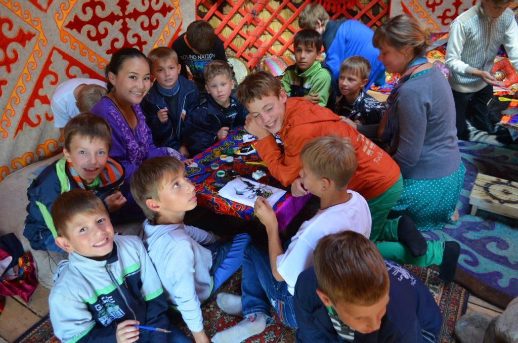 детский праздник в москве