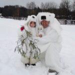 Белый Медведь в поисках Деда Мороза